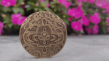 Load image into Gallery viewer, I Am Enough Mantra Medallion
