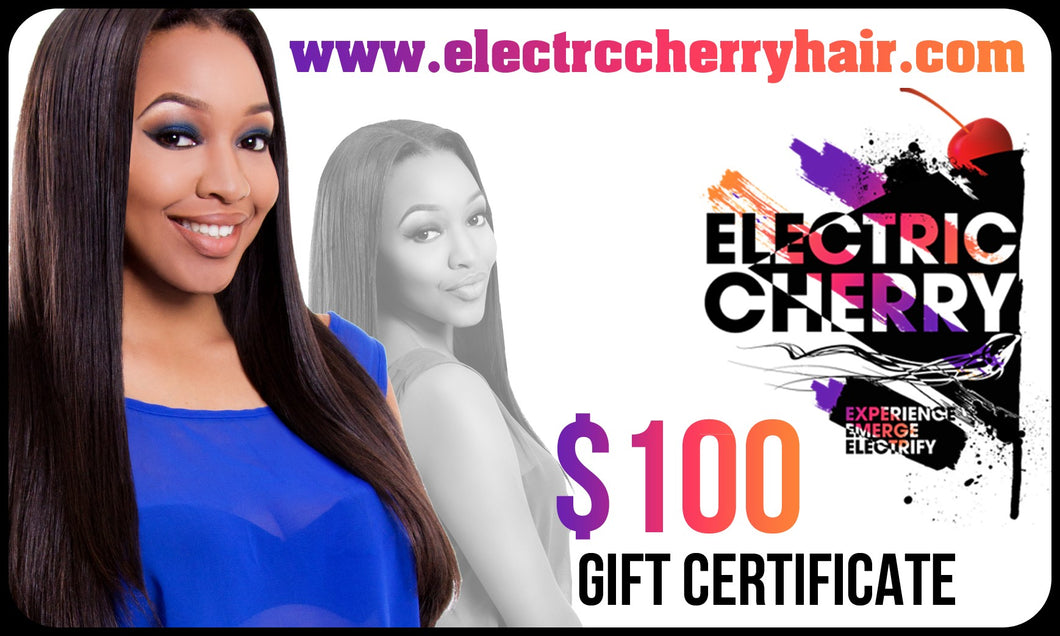 Electric Cherry $100 Gift Card - Electric Cherry