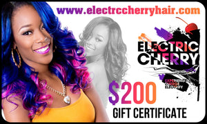 Electric Cherry $200 Gift Card - Electric Cherry