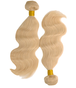 Blonde Sparkle Wave - Electric Cherry