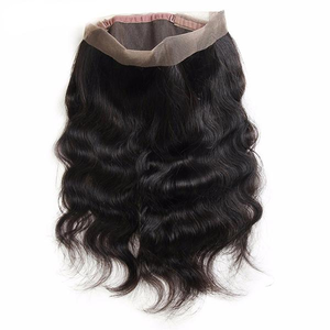 360 Sparkle wave frontal - Electric Cherry