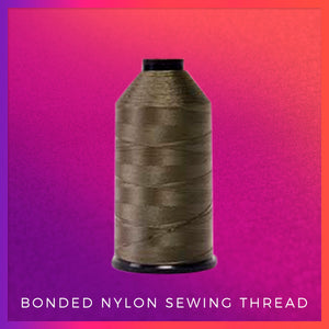 Bonded Nylon Sewing Thread - Electric Cherry