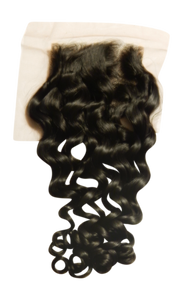 Fuse Curl Lace Closure - Electric Cherry