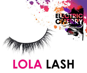 Lola Mink Lashes - Electric Cherry
