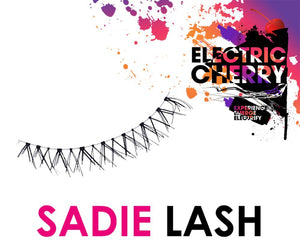 Sadie Mink Lashes - Electric Cherry