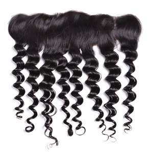 Fuse Curl Lace Frontal - Electric Cherry