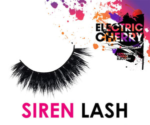 Siren Mink Lashes - Electric Cherry
