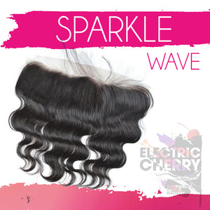 Sparkle Wave Lace Frontal - Electric Cherry