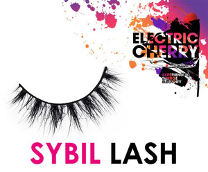 Sybil Mink Lashes - Electric Cherry
