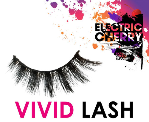 Vivid Mink Lashes - Electric Cherry