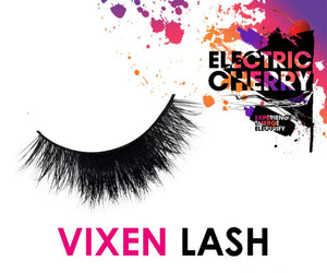 Vixen Mink Lashes - Electric Cherry