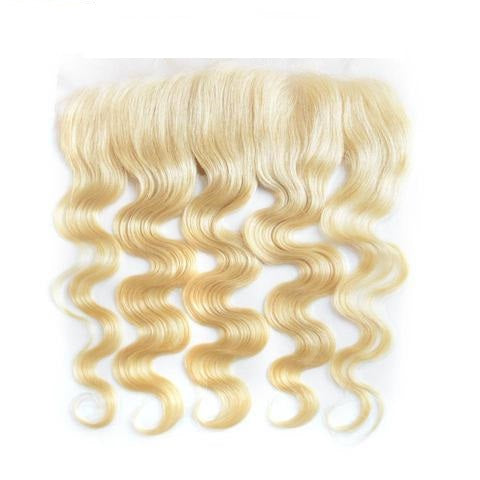 Blonde Sparkle Wave Frontal - Electric Cherry