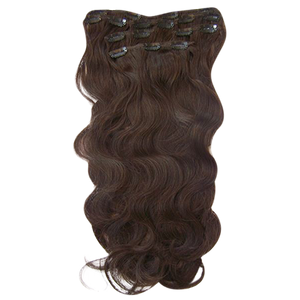 Blonde Sparkle Wave Clip Ins - Electric Cherry