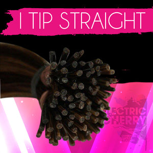 ElectroStatic Straight I-Tip Extensions - Electric Cherry