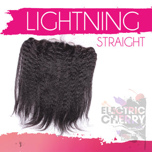 Lightning Straight Frontal - Electric Cherry
