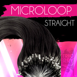 Electrostatic Straight Micro loop Extensions - Electric Cherry