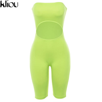 sexy  fluorescence playsuit