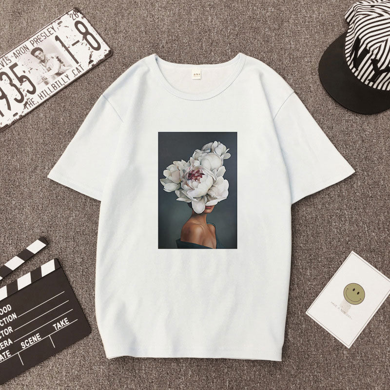 Vogue Harajuku Aesthetic T Shirt