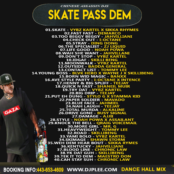 Skate Pass Dem (Wicked)