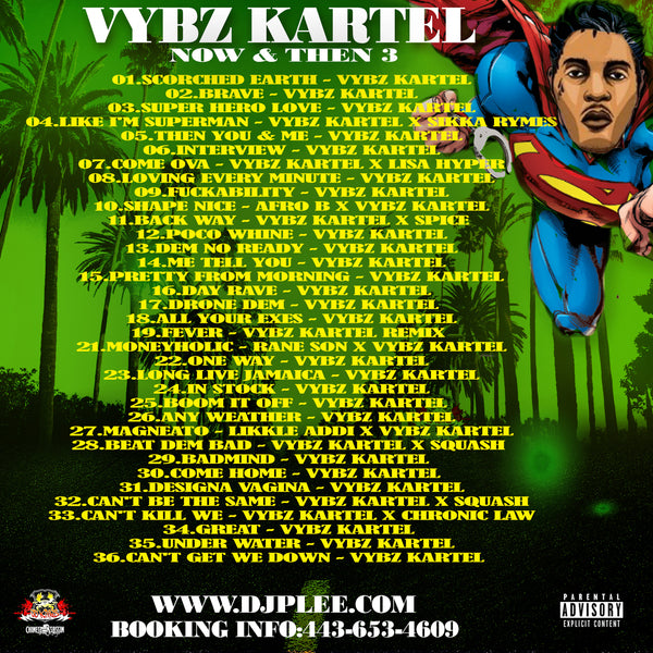 Vybz Kartel Now & Then 3 (Very Lit)