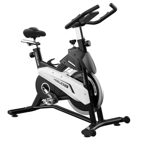 YOSUDA Indoor Cycling Bike Stationary - Exercise Bike with Belt Drive and 43 Lbs Flywheel - FEIERDUN