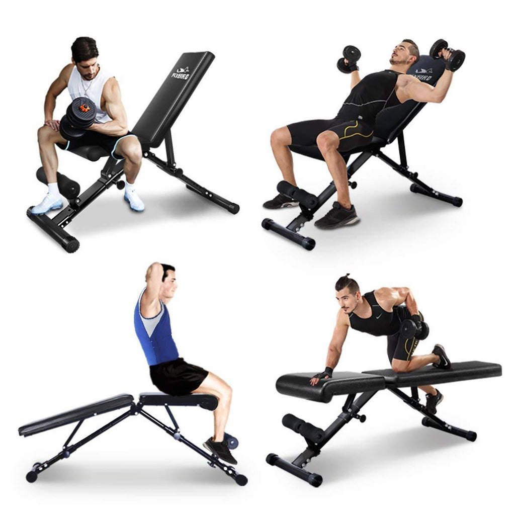 Tremendous Adjustable Bench Utility Weight Bench For Full Body Workout Creativecarmelina Interior Chair Design Creativecarmelinacom