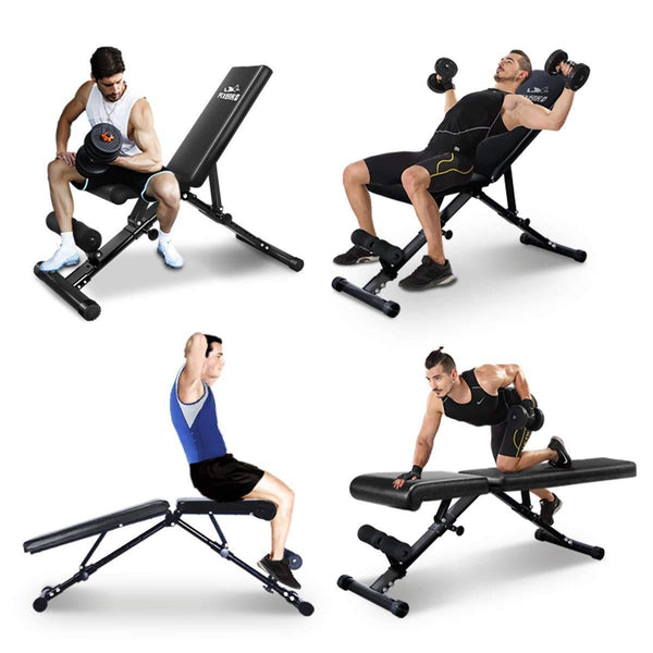 Adjustable Bench,Utility Weight Bench for Full Body Workout - FEIERDUN