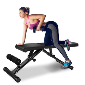 Weight Bench Utility Weight Bench for Full Body Workout - FEIERDUN