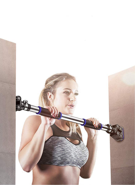 "Door Pull Up and Chin Up Bar -Upper Body Workout Bar Fit Doorways 36.2"" - 47.2"" & 440 LBS"