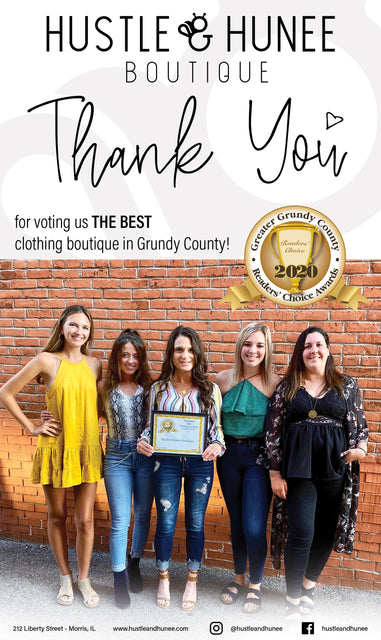Morris Illinois clothing boutique voted #1 in grundy county