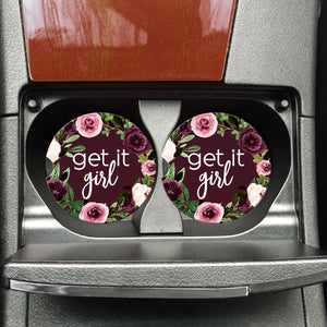 Get it Girl - Coasters on the Go - Hustle & Hunee