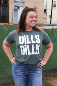 Dilly Dilly - Shamrock Graphic Tee - Hustle & Hunee