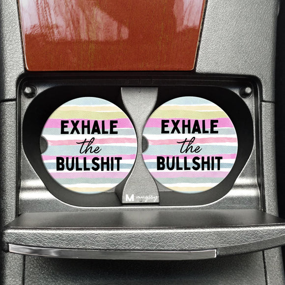 Exhale the Bullshit - Coasters on the Go