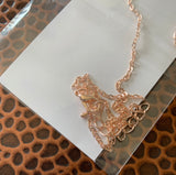 Initial Necklace - Rose Gold - Hustle & Hunee