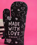 Made With Love - Oven Mitt - Hustle & Hunee