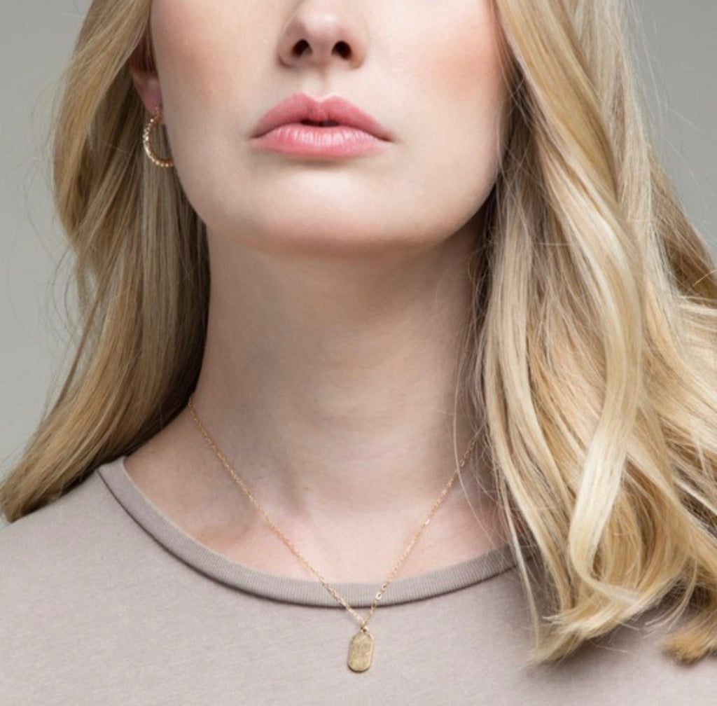 Dainty Metal Charm Necklace - Hustle & Hunee