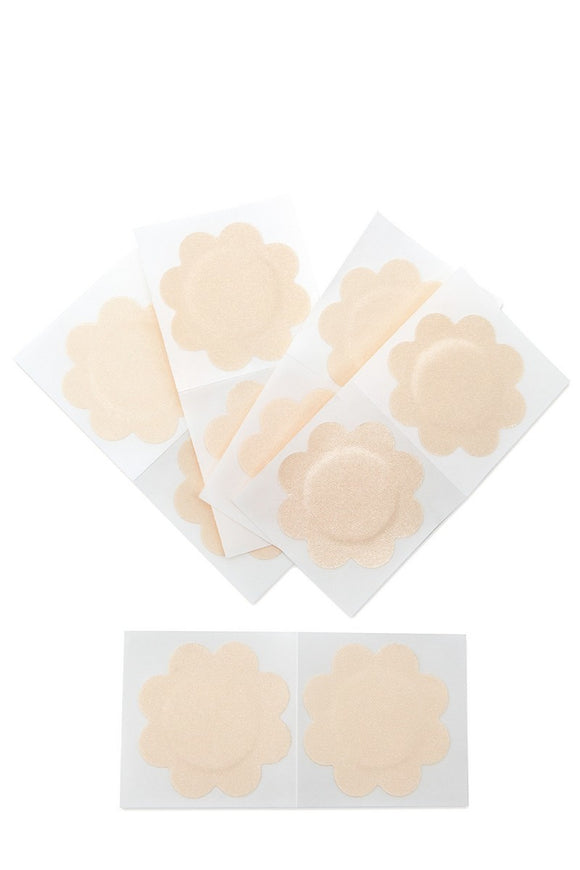 Nude Petal Nipple Covers - 5 Sets - Hustle & Hunee