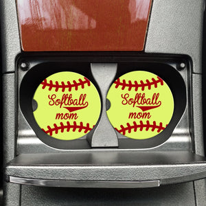 Softball Mom - Coasters on the Go - Hustle & Hunee