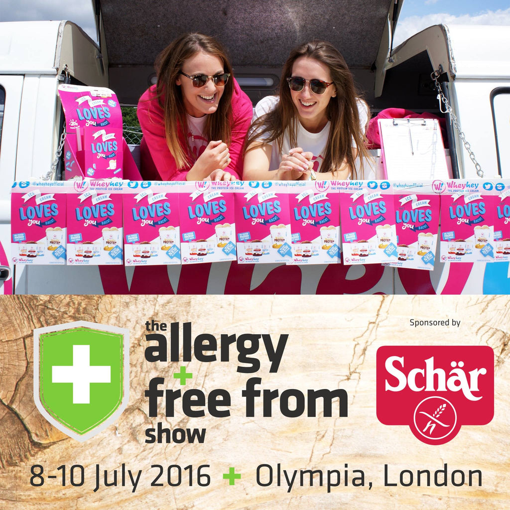 Join Wheyhey! at the Allergy and Free From show
