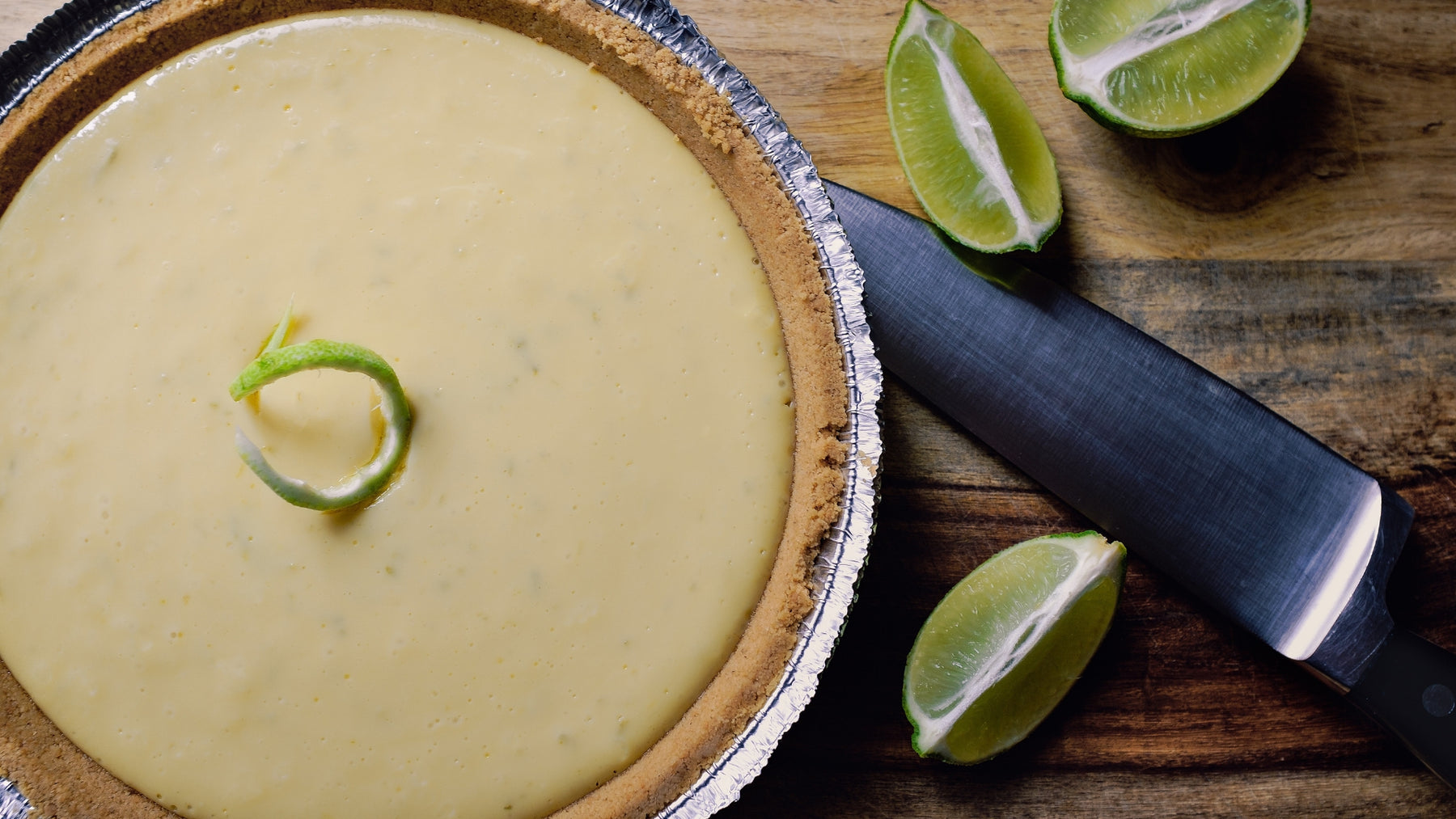 Gluten Free Avocado Key Lime Pie