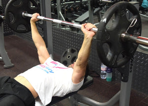 The 'Big 2' upper body strength exercises- Bench press
