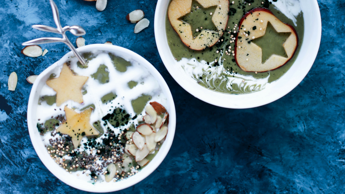 Wheyhey Fruits and Greens Smoothie Bowl