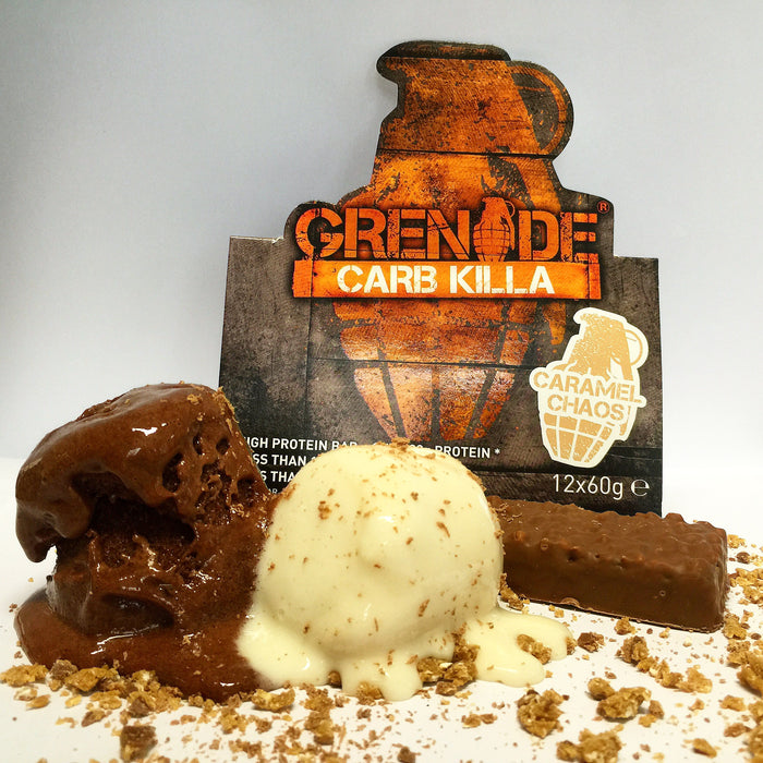 Carb Killa Grenade Bars With Vanilla & Chocolate Wheyhey
