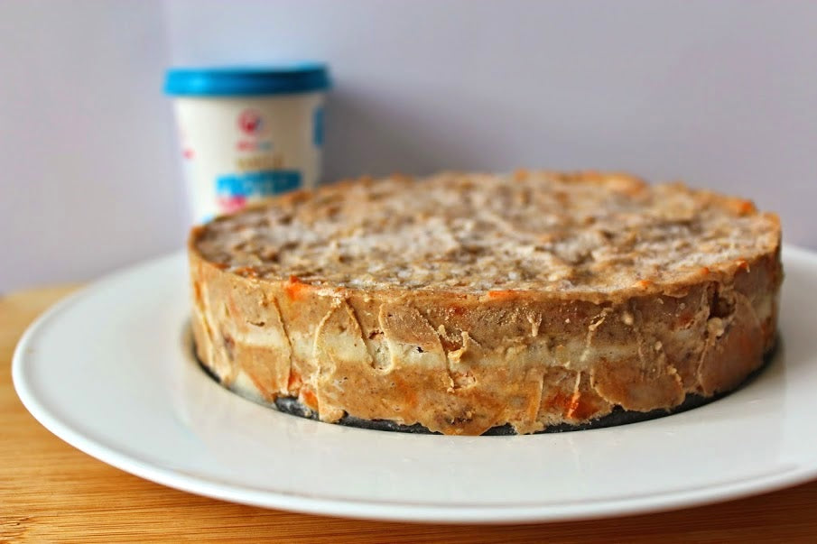 Spiced Wheyhey Protein Carrot Cake