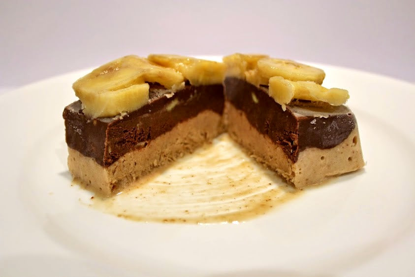 Wheyhey Banoffee, Chocolate & Pecan Slices