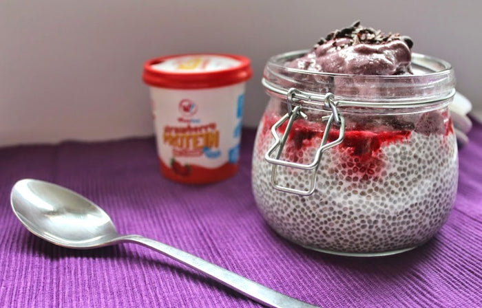 Coconut Chia Seed Pot with Wheyhey