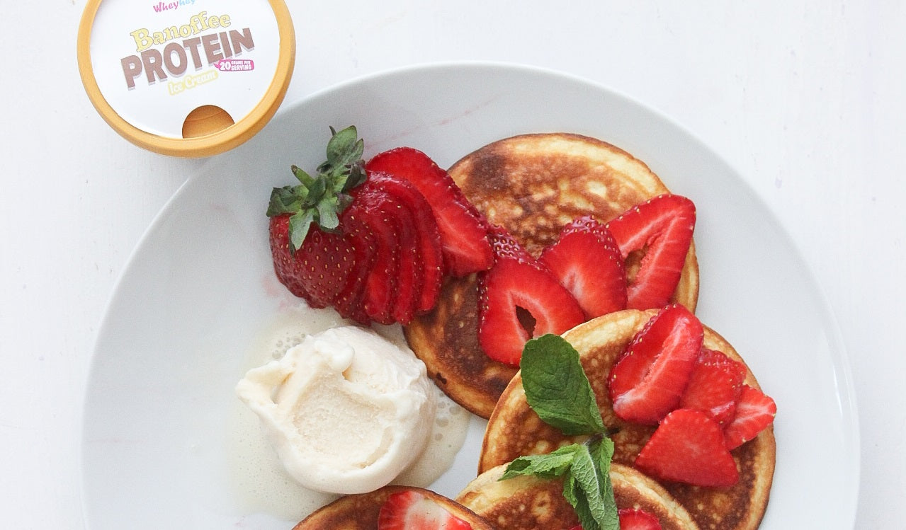 Coconut Pancakes our whey!