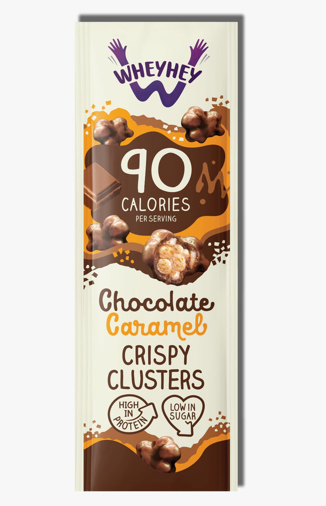Chocolate Caramel Clusters (16 Pack)