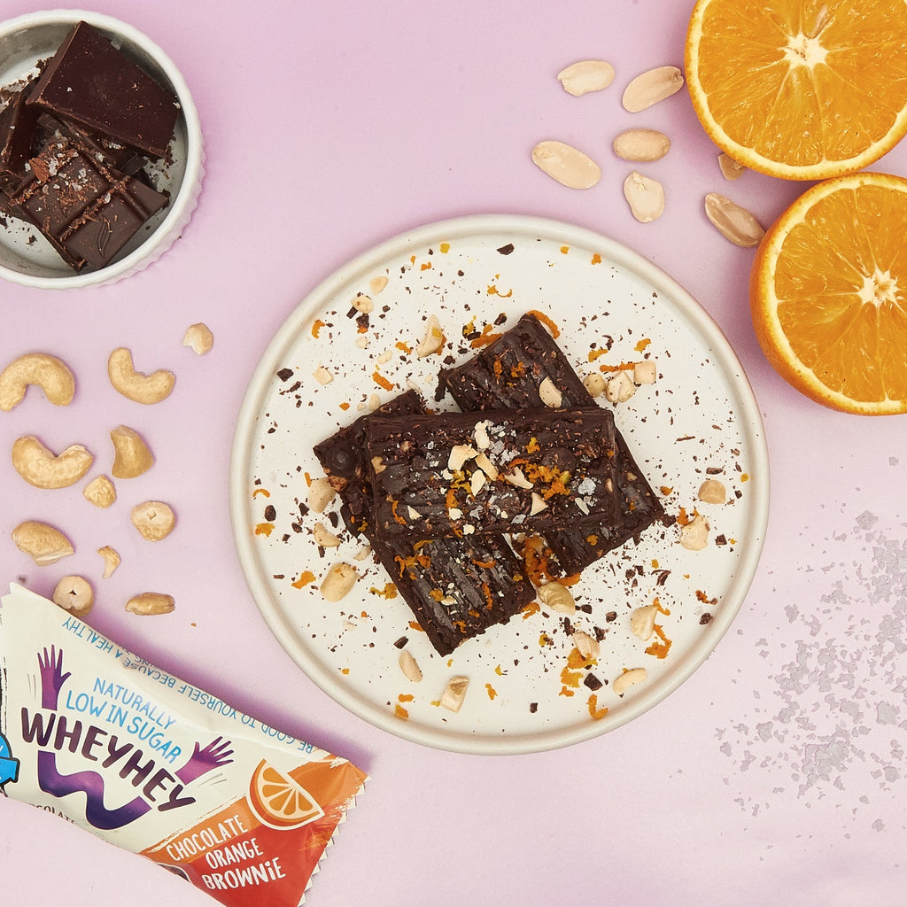 Naturally Low In Sugar | Chocolate Orange | Wheyhey