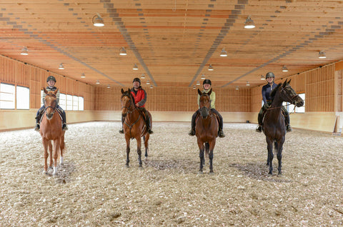 The Scott Family in Foothills Farm Arena